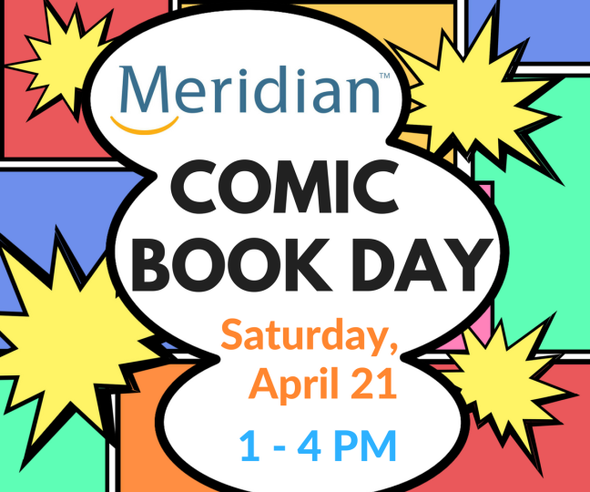Comic Book Day Graphic